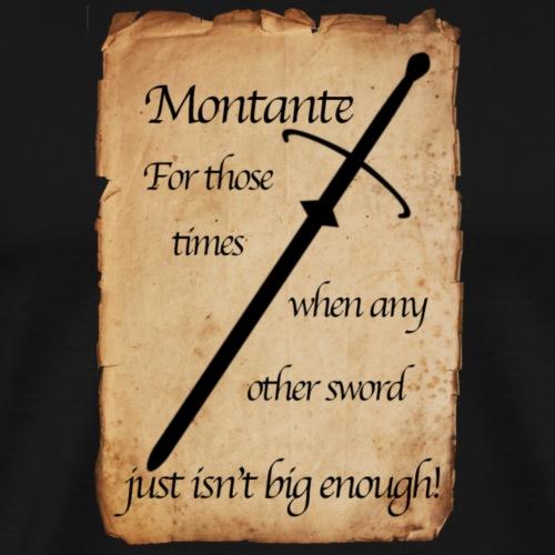 Montante Poster - Men's Premium T-Shirt