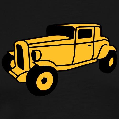 2 color Oldtimer Hot Rod Straßenkreuzer Rock and - Männer Premium T-Shirt