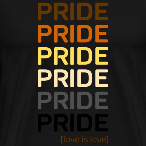 BEAR PRIDE love is love