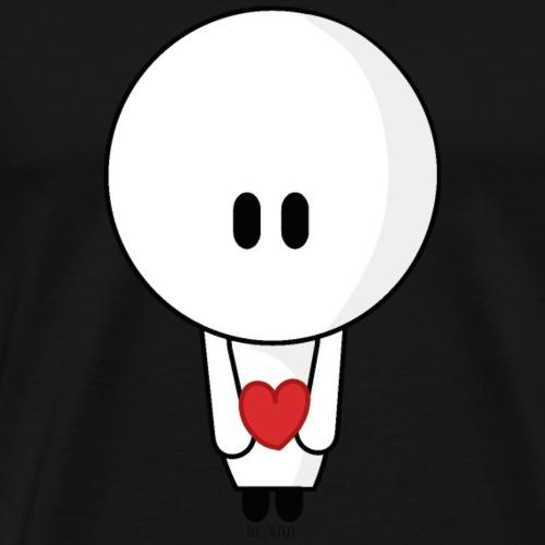 Give you my heart - Mannen Premium T-shirt