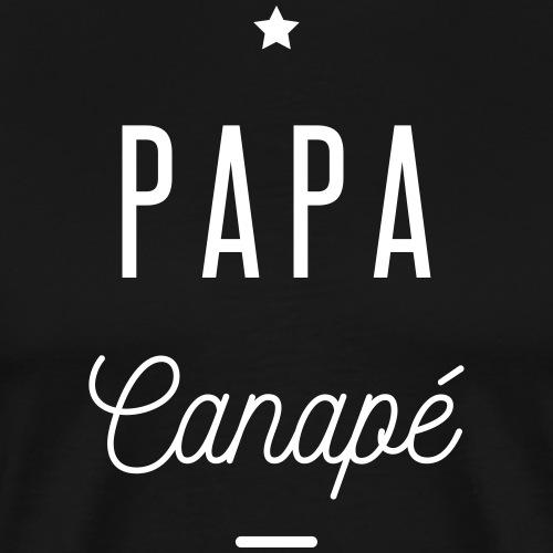 papa canapé - T-shirt Premium Homme
