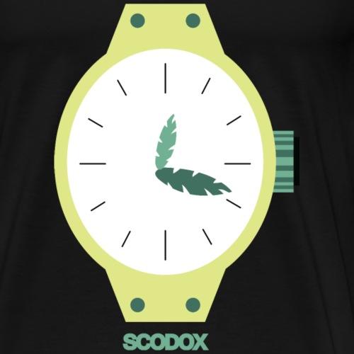 Horloge - Mannen Premium T-shirt