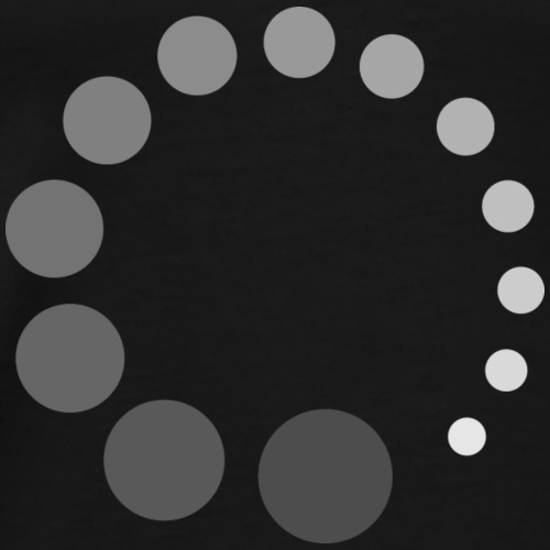 Buffering loading chargement - T-shirt Premium Homme