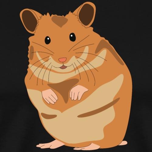 Hamster - Goldhamster - Zwerghamster - Haustier - Männer Premium T-Shirt