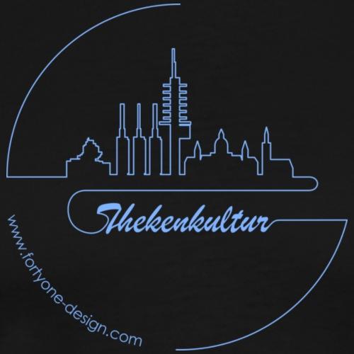 Hannover Skyline Linie - Männer Premium T-Shirt