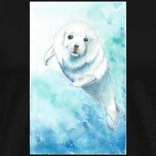 Baby seal - Herre premium T-shirt