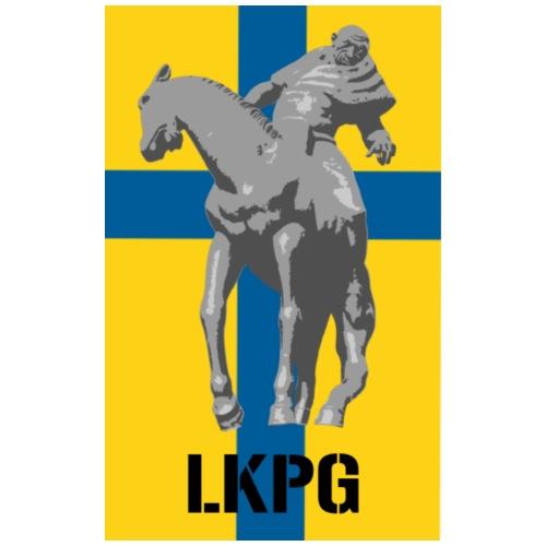 Folke Filbyter LKPG - Premium-T-shirt herr