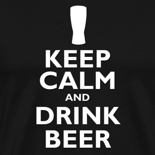 Keep Calm and Drink Gin - Men's Premium T-Shirt