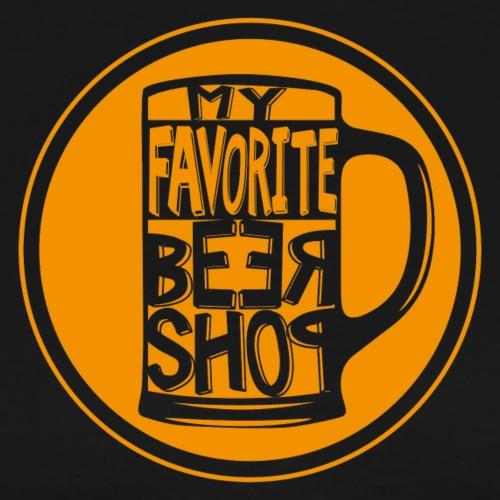MY FAVORITE BEER SHOP - Maglietta Premium da uomo