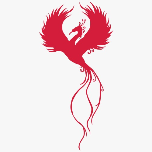 Phoenix Reborn - Herre premium T-shirt