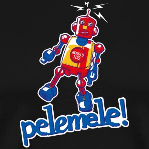 Pelemele! Arnold 100 - Männer Premium T-Shirt