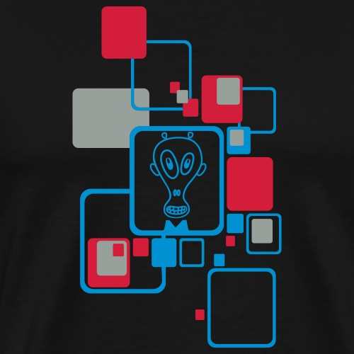 Motif Extra Terrestre - T-shirt Premium Homme