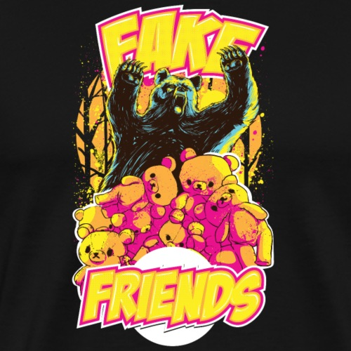 Fake Friends - Männer Premium T-Shirt