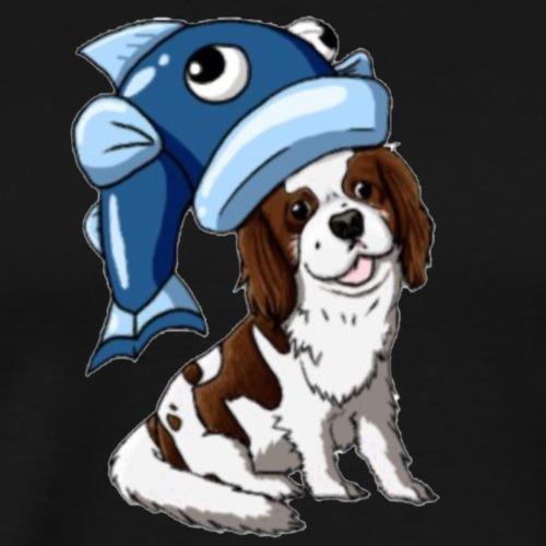 COD8MYdog logo (oscar) - Men's Premium T-Shirt