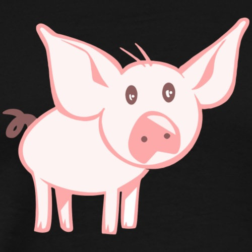 Petit Cochon - T-shirt Premium Homme