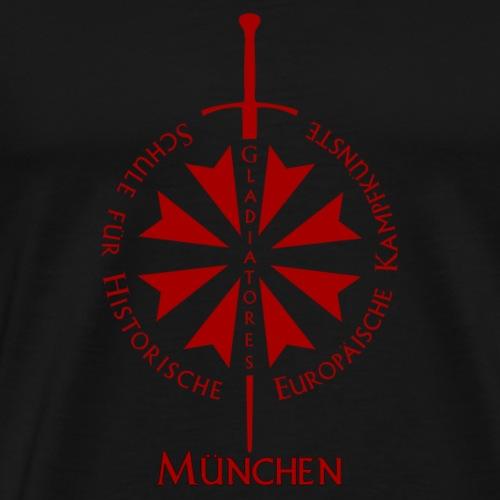 T shirt front M - Männer Premium T-Shirt