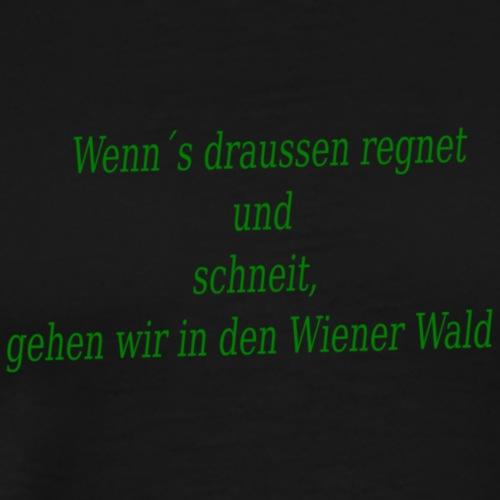Wiener Wald - Männer Premium T-Shirt