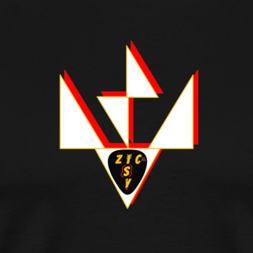 Zic Isy JP blanc - T-shirt Premium Homme
