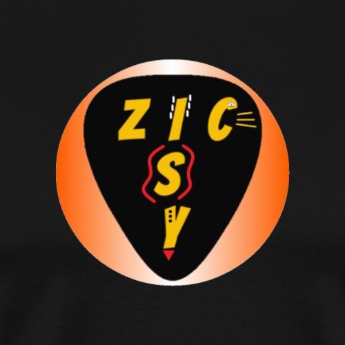 Zic izy rond dégradé orange