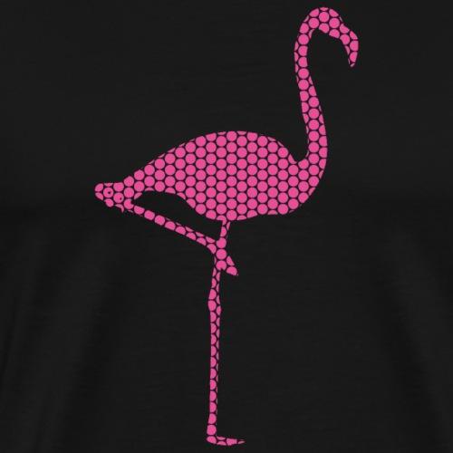 Flamingo Pink - Männer Premium T-Shirt