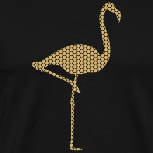 Flamingo Gold - Männer Premium T-Shirt