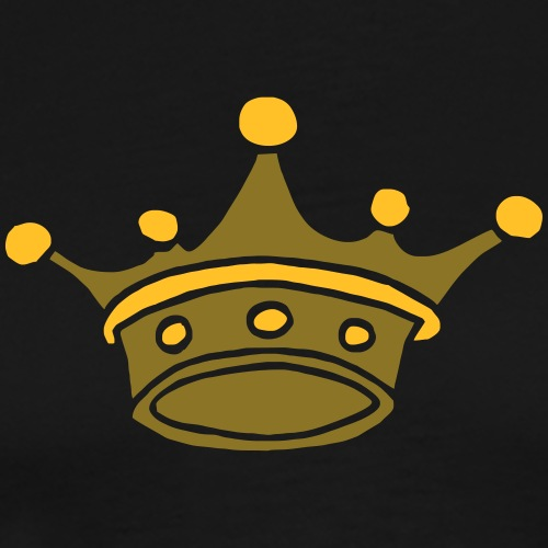 Crowns Jewels Kronen Juwelen Kings Queens Princess - Männer Premium T-Shirt