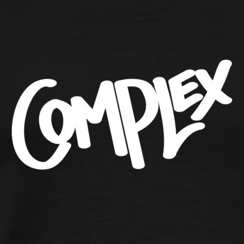 Complex Logo White - Men's Premium T-Shirt