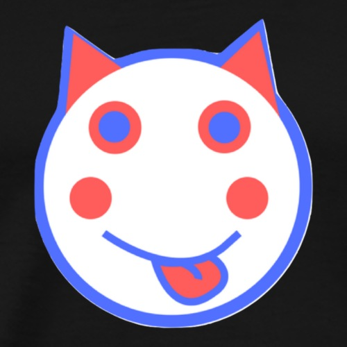 Alf Red White And Blue Cat | Alf Da Cat - Men's Premium T-Shirt