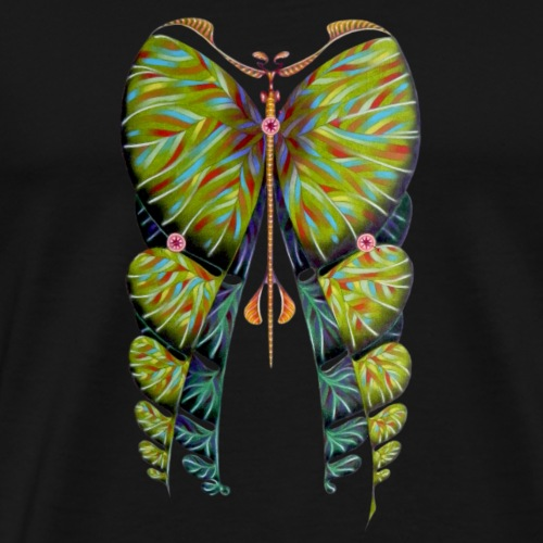 Fibonacci butterfly - Maglietta Premium da uomo