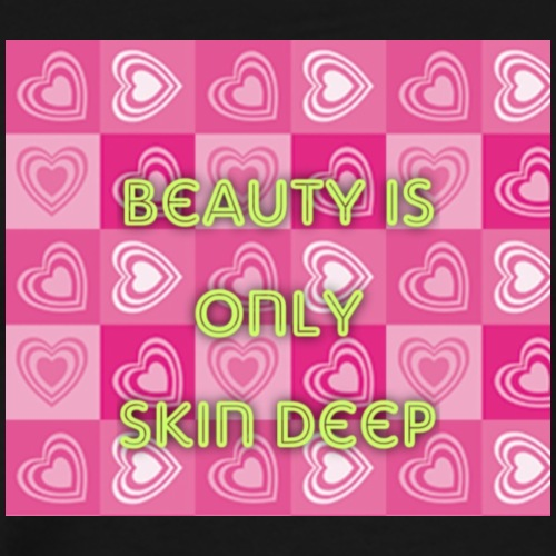 Beauty is only skin deep - Men's Premium T-Shirt