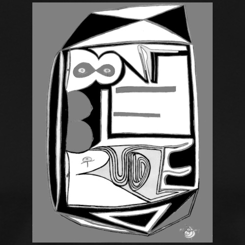 Digital Abstract Illustration DAI 08 - Men's Premium T-Shirt
