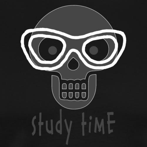 Skull - Miesten premium t-paita