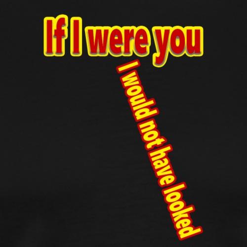 Look - Miesten premium t-paita
