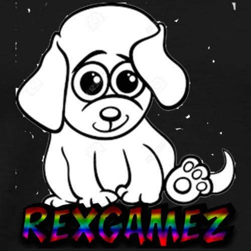 pet met hond - Mannen Premium T-shirt