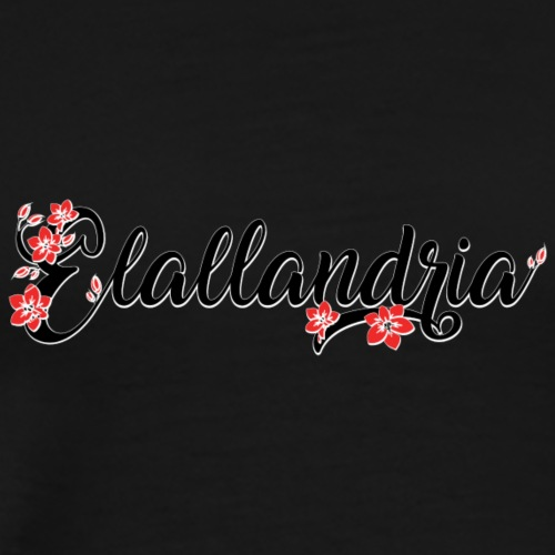 Elallandria logo - Men's Premium T-Shirt