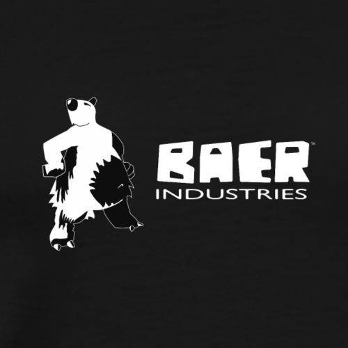 baer industries Wort Bildmarke 2017 black - Männer Premium T-Shirt