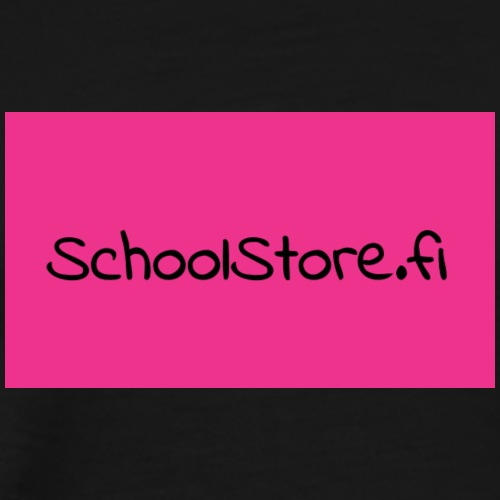 SchoolStore -logo - Miesten premium t-paita