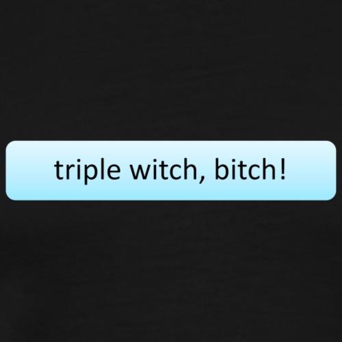 Triple witch - Men's Premium T-Shirt