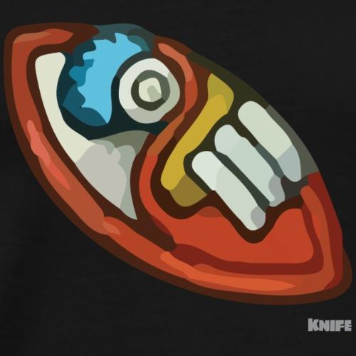 Aztec Flint Knife - Men's Premium T-Shirt