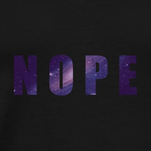 NOPE GALAXY - T-shirt Premium Homme