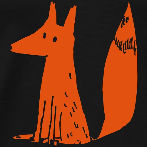 renardroux1mam - T-shirt Premium Homme