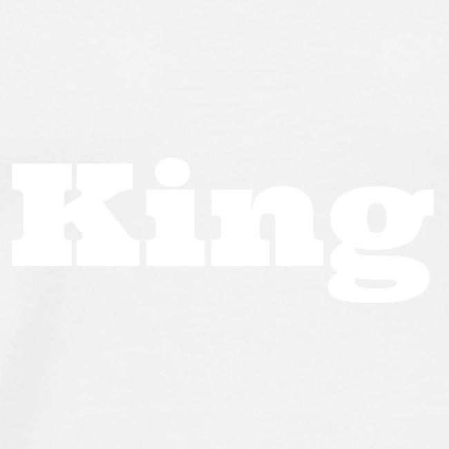 Snapback king zwart/rood