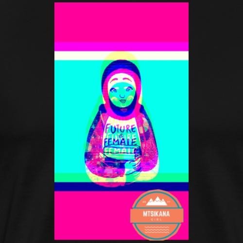 future is female (mtsikana) - Men's Premium T-Shirt