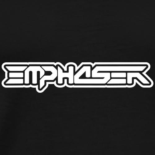 Schriftzug_Emphaser_artist_shirt - Männer Premium T-Shirt