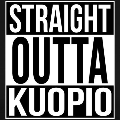 STRAIGHT OUTTA KUOPIO - Miesten premium t-paita