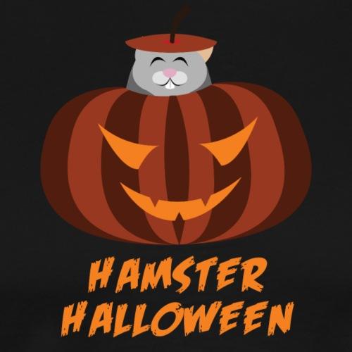 Hamster Halloween - Männer Premium T-Shirt