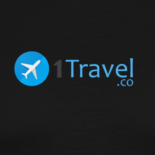 1travel logo original - Men's Premium T-Shirt