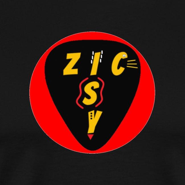 Zic izy rond rouge
