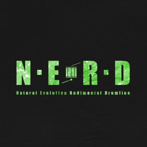 NERD Green - Herre premium T-shirt