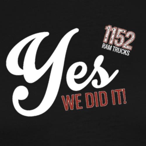 YES-1152.wh - Männer Premium T-Shirt